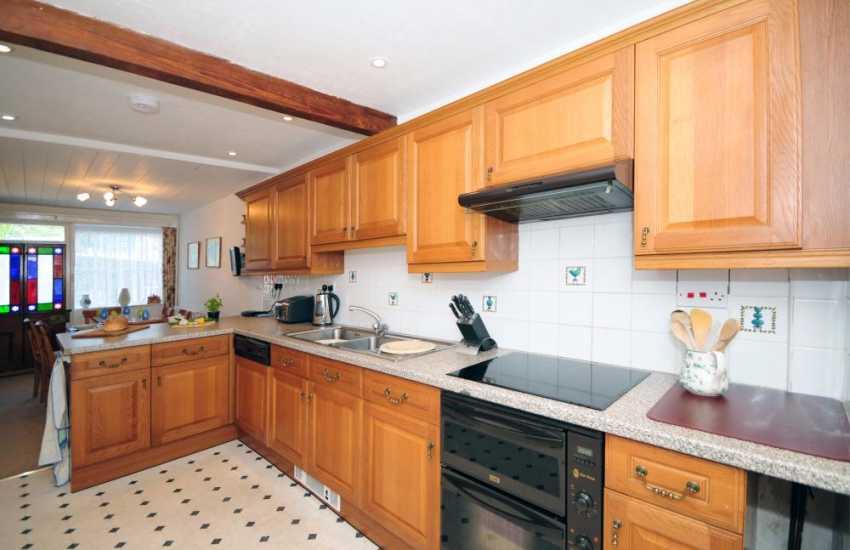 Holiday cottage Myddfai - kitchen