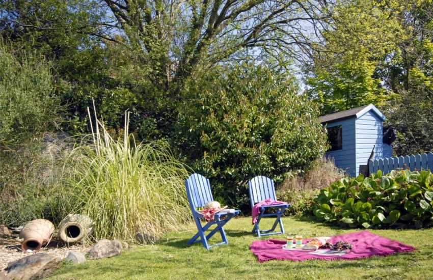 Holiday cottage in North Pembrokeshire with enclosed garden
