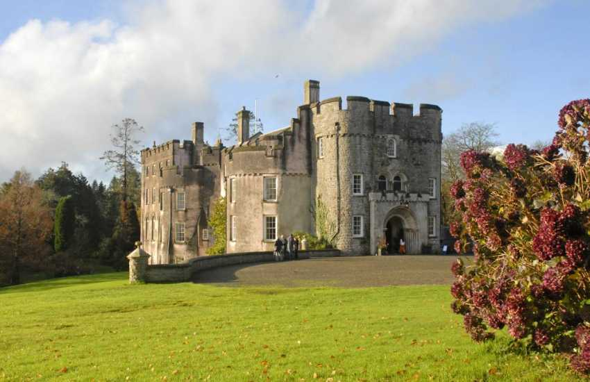 13th century Picton Castle is open for afternoon guided tours. The magnificent 40 acre woodland gardens are a joy to explore or just enjoy a picnic