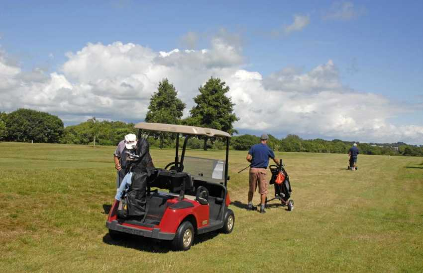 Pembrokeshire has a choice of championship golf courses to choose from all within an easy drive