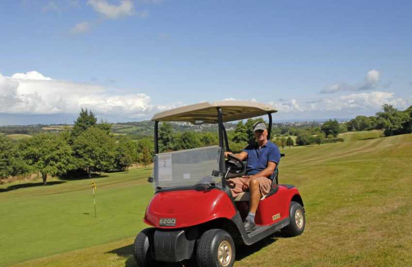Golf in Pembrokeshire - there are a number of excellent golf courses to choose from