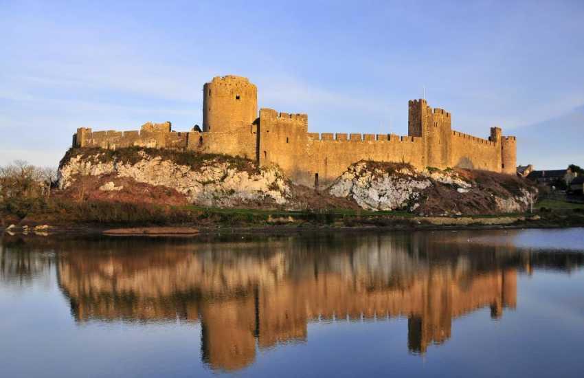 Birthplace of Henry VII Pembroke Castle is a medieval castle in Pembroke, West Wales. Standing beside the River Cleddau