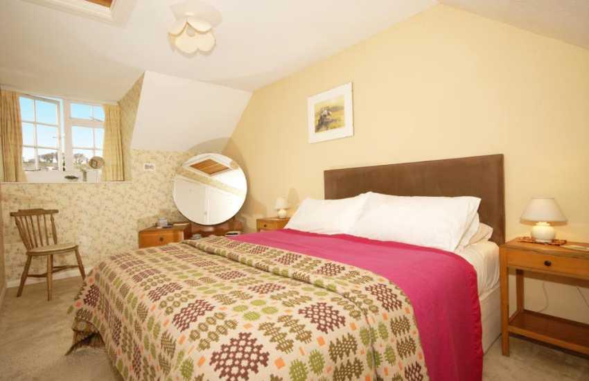 Solva cottage double bedroom