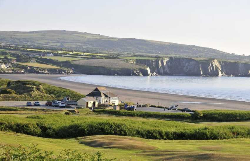 Newport Golf Club - 18 holes, mixed parkland and links course with spectacular views overlooking Dinas Head