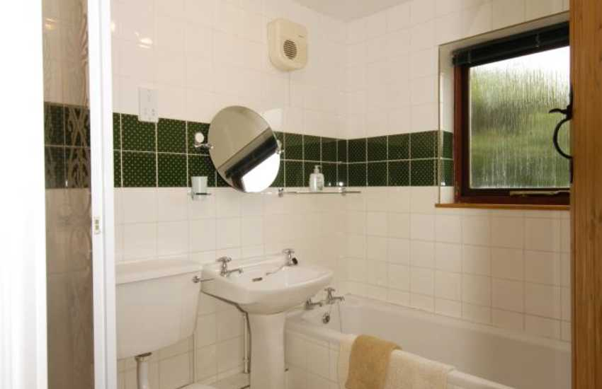 StDavids holiday cottage - family bathroom