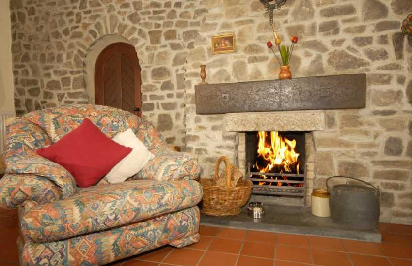Coastal cottage near St Davids with open fire