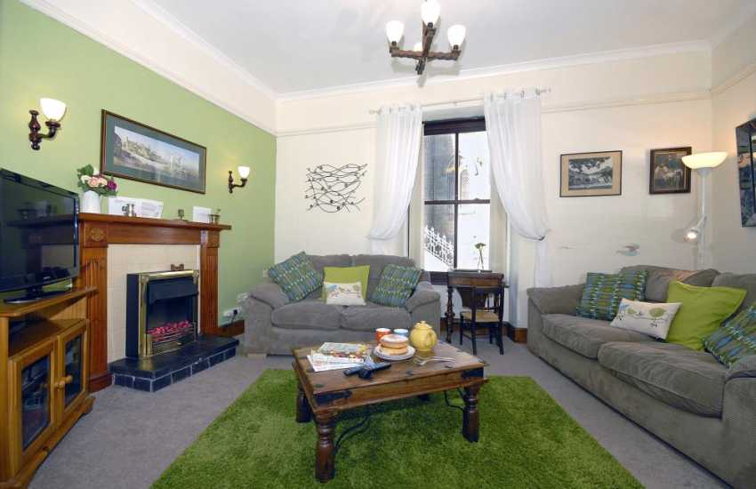 Whitesands self-catering home - ground floor family sitting room
