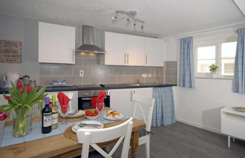 Self catering South Pembrokeshire - modern kitchen/diner/sitting room