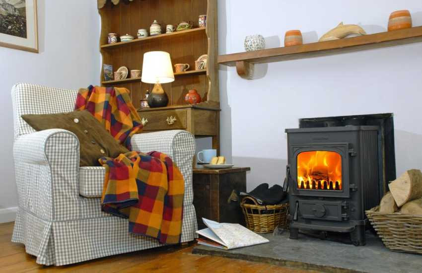 Pembrokeshire cosy retreat - tea and cake and lazy afternoons by the fire