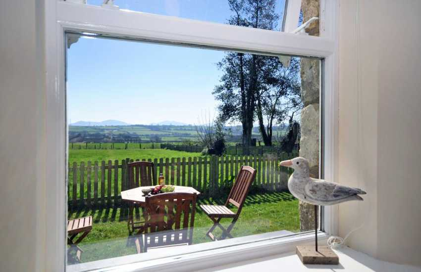 Anglesey apartment with countryside views