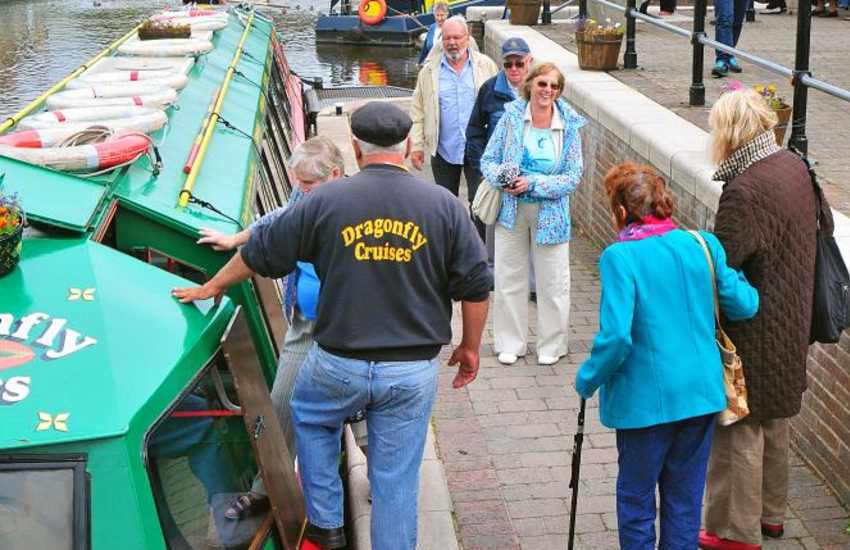 Barge Trips on the Brecon canal