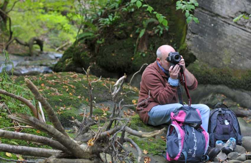 Photographers flock to the Brecon Beacons National Park