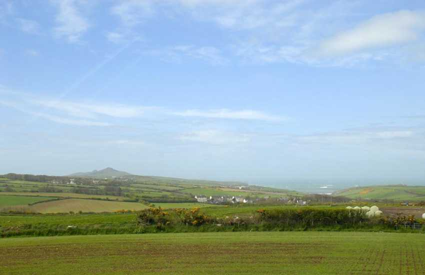 Enjoy panoramic views over St Davids Head round to Abercastle and the coast