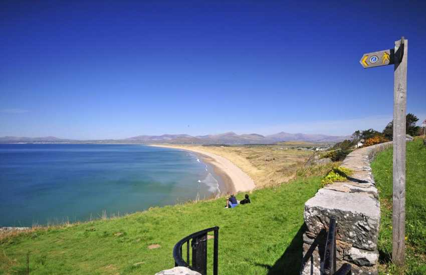 Stunning Harlech Sands North Wales