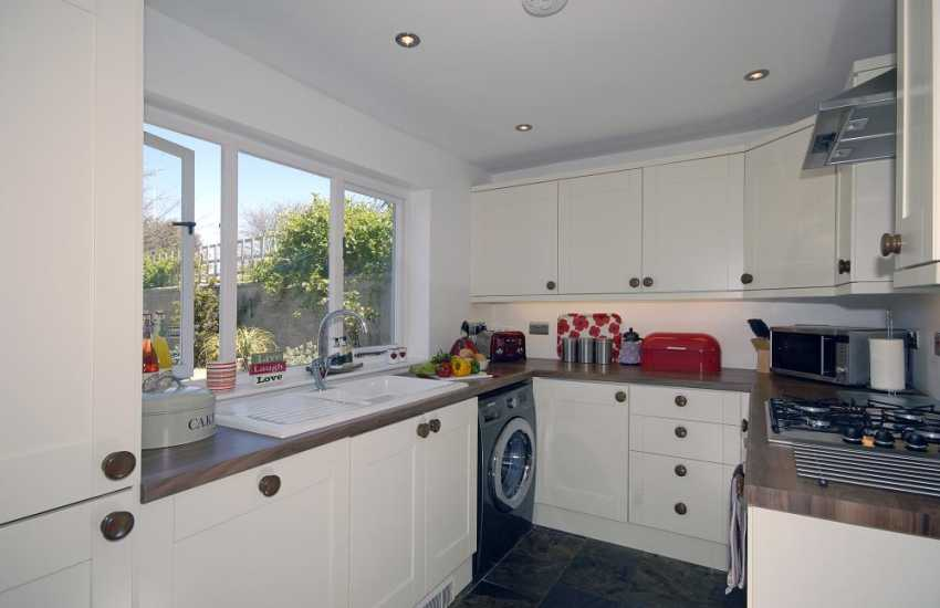 Self catering holiday cottage St Davids -  modern fitted kitchen