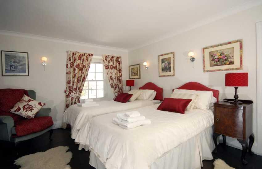 Cerbid cottage twin bedroom