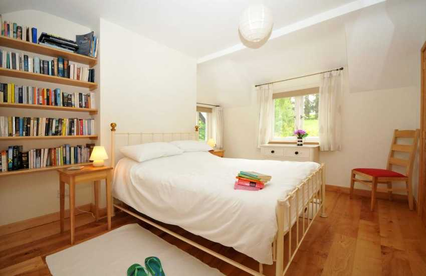 Betws y Coed holiday cottage - double bedroom