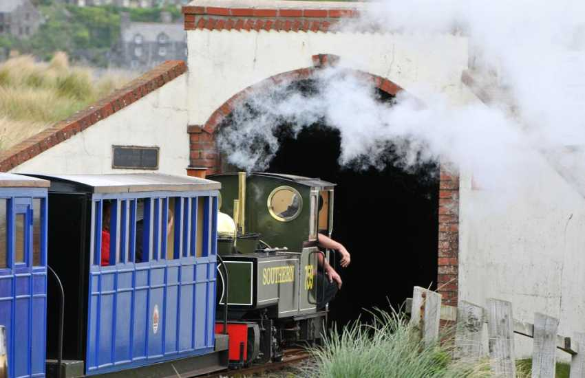 Fairbourne's narrow gauge steam train for all the family