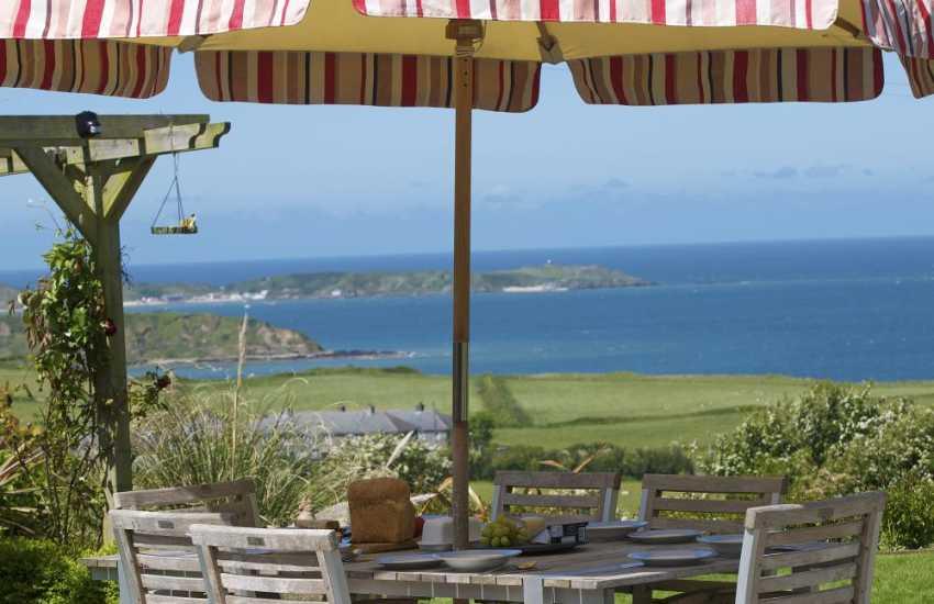 Lleyn Peninsula holiday cottage - view