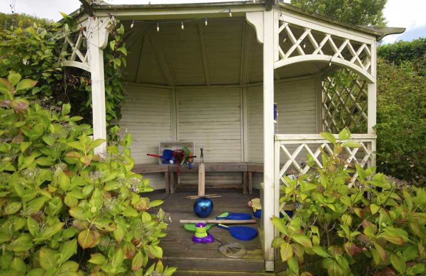 Luxury holiday cottage North Wales - garden