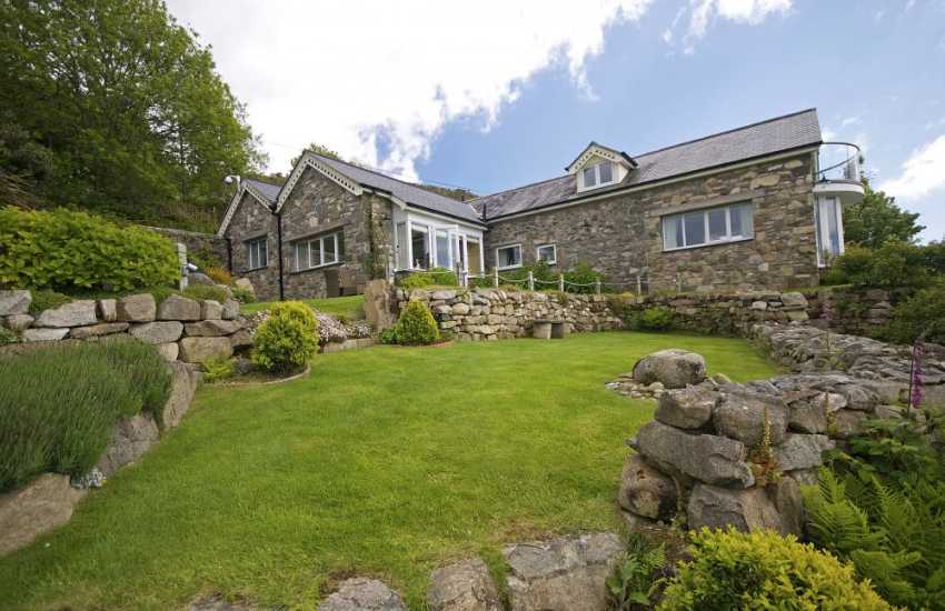 North Wales coastal cottage - exterior