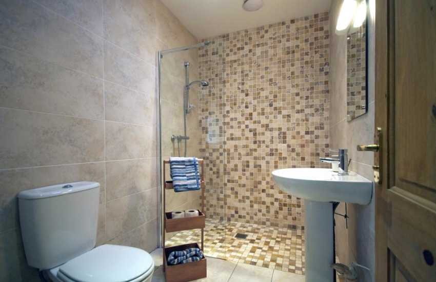 Luxury Lleyn Peninsula holiday house - bathroom