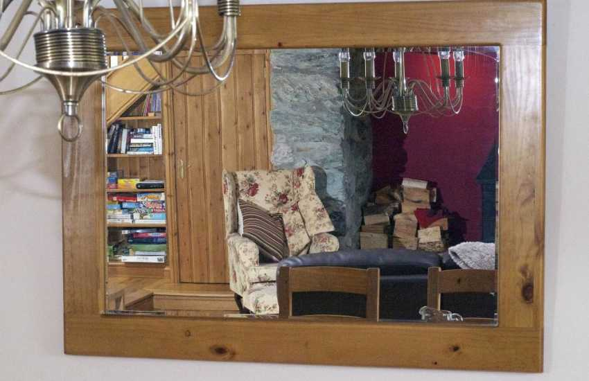 Luxury north Wales holiday cottage - lounge