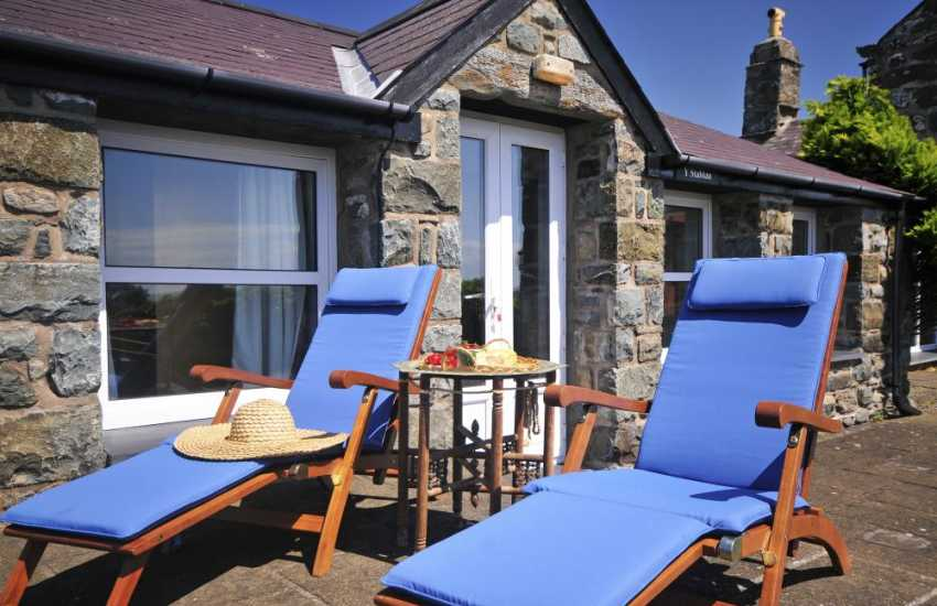 Barmouth holiday cottage - exterior