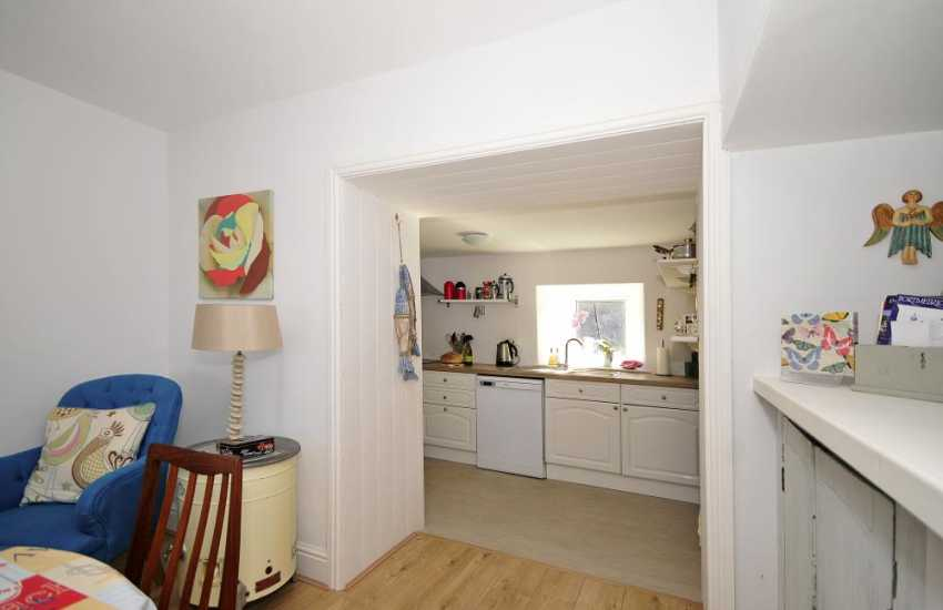 Luxury Welsh holiday cottage - kitchen