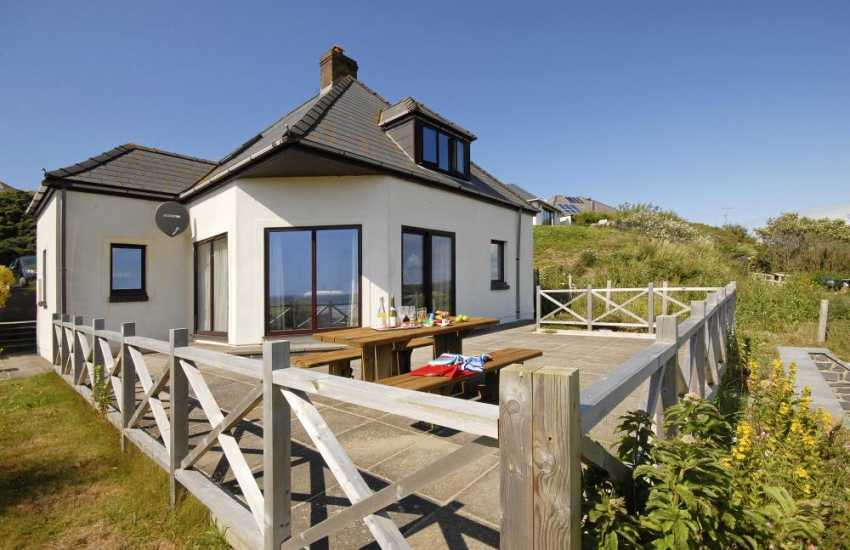 Cottage holiday St Brides bay sea views
