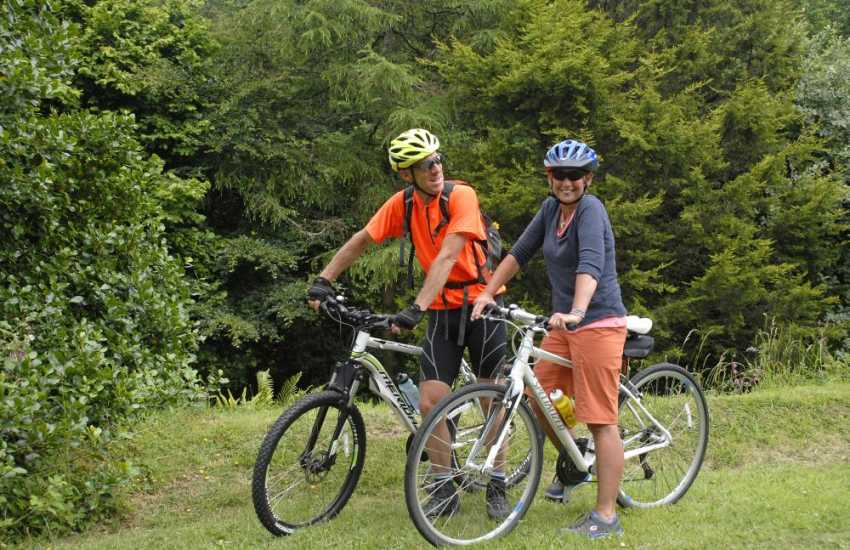 'Pembrokeshire Bikes' provides a hire service for all age groups and will even deliver them to your holiday home!