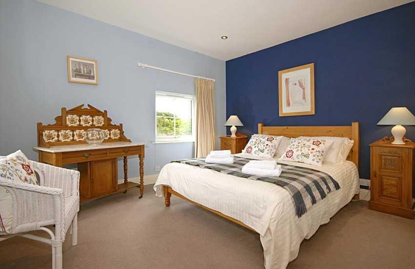 North Pembrokeshire family house for rent - first floor master bedroom