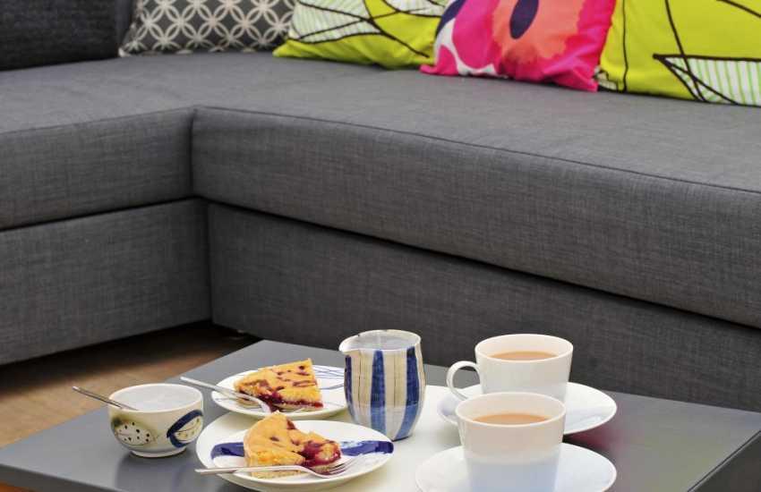 Luxury Welsh holiday apartment - lounge
