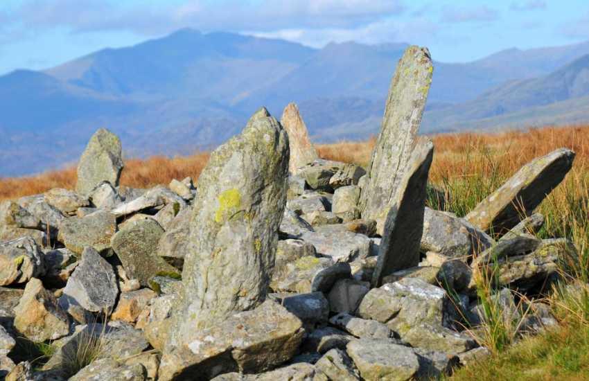 Bryn Cader Faner standing stones Snowdonia