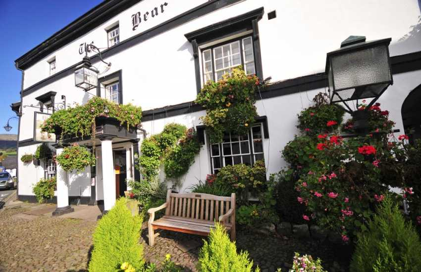 The Bear Hotel is a great pub to while away an evening,  Excellent food and a warm welcome always awaits weary walkers and travellers