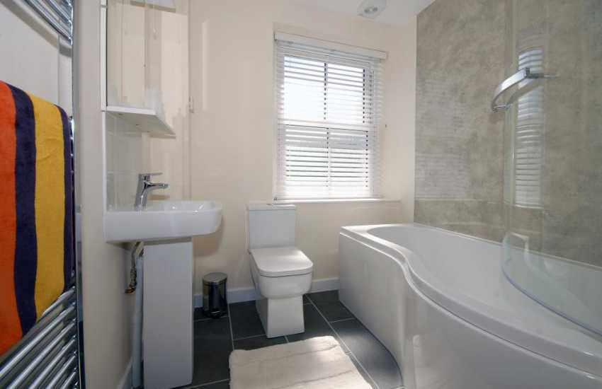 Gwaun Valley holiday cottage - ground floor family bathroom