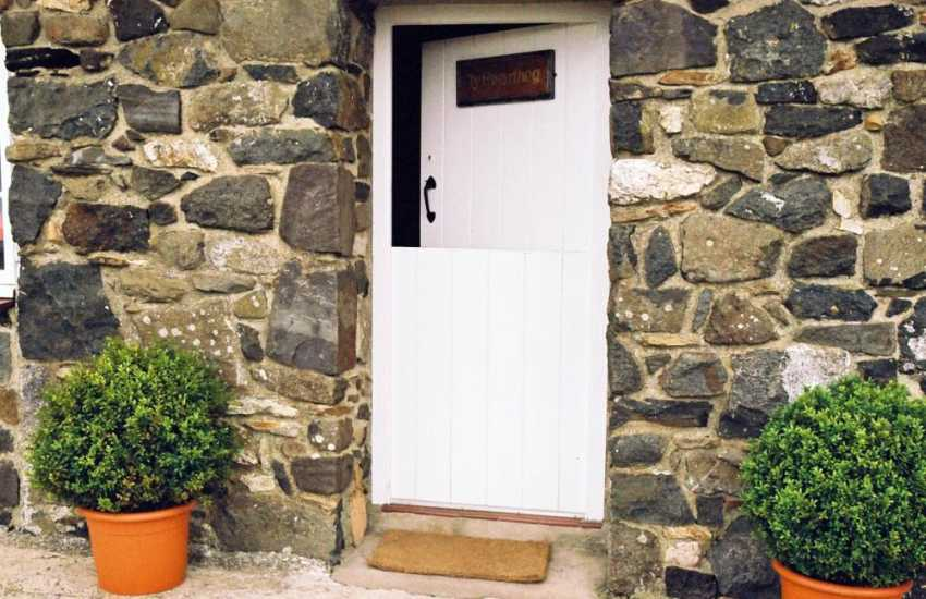 Cottage with stable door