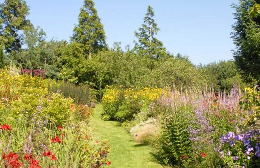 Dyffryn Fernant Gardens - wander round this real gem tucked away amongst the gorse and boulders of the Preselli Hills
