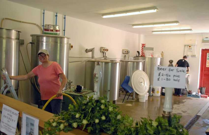 Gwaun Valley Brewery - watch the brewers at work, smell the malted barley and taste the finished product - delicious!