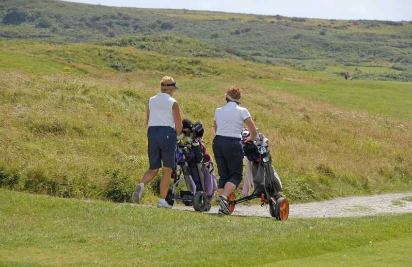 Pembrokeshire has a choice of excellent golf courses to choose from including Newport Links which is included in the top 100 courses of Wales