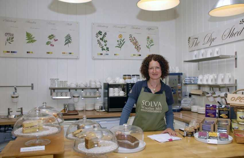 Do visit Solva Woollen Mill - the oldest working mill in Pembrokeshire with a dog friendly tea room!