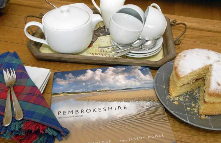 Visit Pembrokeshire -  family holiday home near the coast.