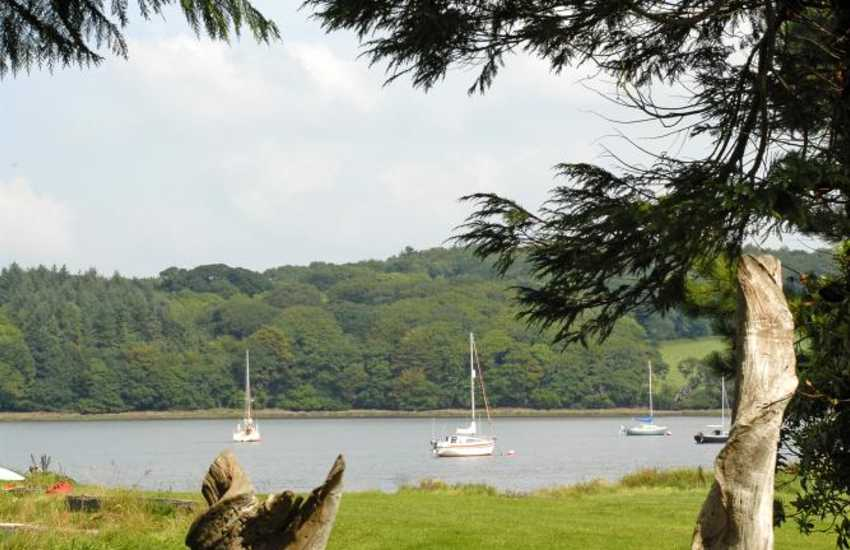 The upper reaches of the 'Secret Waterway' at Lawrenny - a paradise for lovers of nature, peace and tranquillity