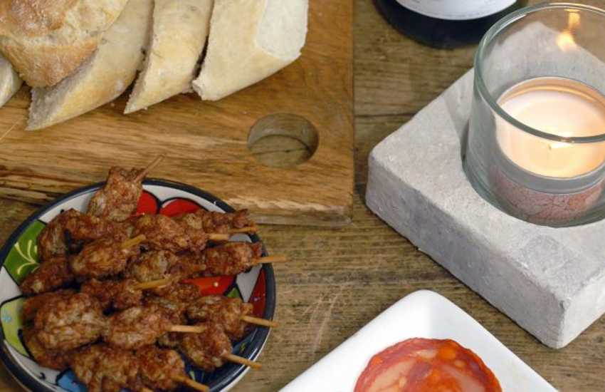 Try The Kings Arms, Pembroke for tasty tapas - perfect for sharing