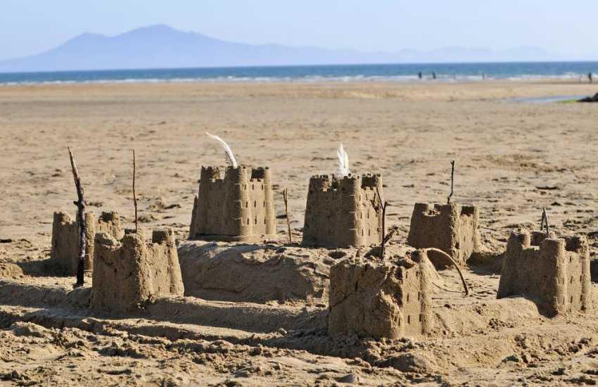 Aberffraw's perfect sandy beach