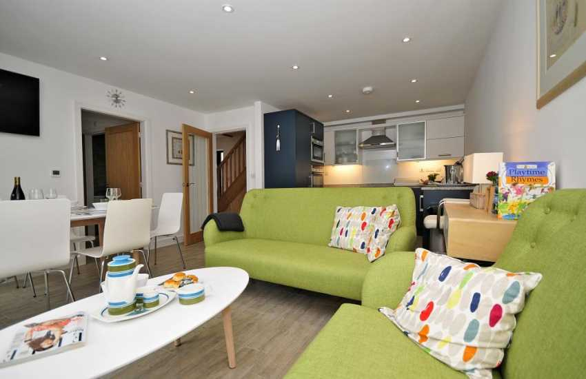 Luxury self catering Anglesey - lounge