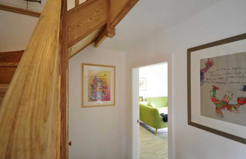 Luxury holiday cottage Anglesey - hall