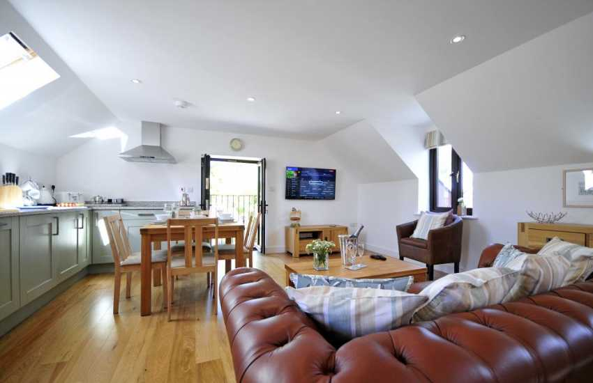 Newborough holiday cottage - lounge