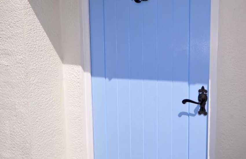 Luxury cottage Morfa Nefyn - door
