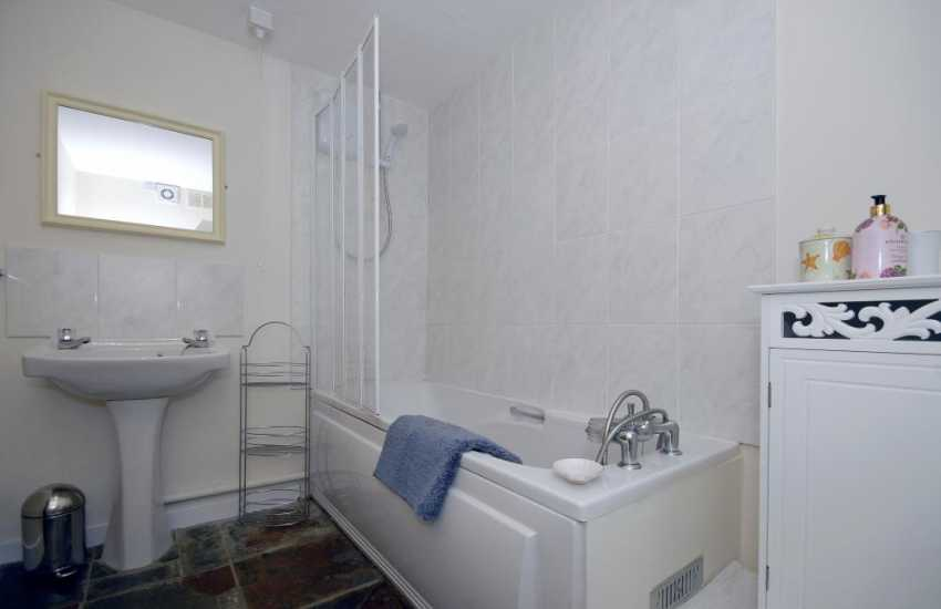 North Pembrokeshire holiday home - ground floor family bathroom
